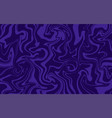 marble texture dynamic liquid pattern in purple vector image vector image