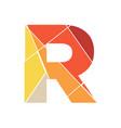 mosaic initial r