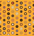 seamless pattern bright colors with black vector image vector image