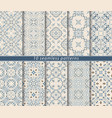 seamless pattern in persian style vector image