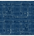 seamless pattern in the style of steam punk vector image vector image