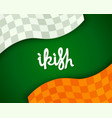 stylized irish background vector image vector image