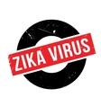 Zika Virus rubber stamp vector image vector image