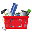 icon of shopping cart vector image