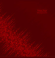 abstract background with red dots vector image