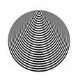 cone shape 3d illusion