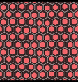creative hexagonal background vector image