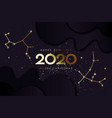 happy new 2020 year and merry christmas vector image vector image
