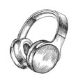 melomane audio device wireless headphones vector image vector image