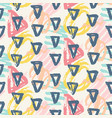 modern seamless pattern geometric shapes vector image