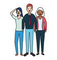 people group diversity vector image vector image