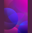 purple abstract background with geometric vector image vector image
