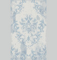 vintage seamless ornament pattern baroque vector image