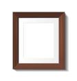hardwood frame vector image vector image