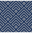 Seamless wool knitted pattern vector image vector image