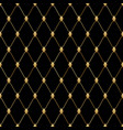 black luxury seamless pattern art deco vector image vector image