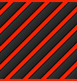 black-red background stripes with shadow vector image