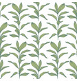 Branches hand drawing seamless pattern