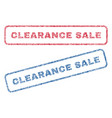 clearance sale textile stamps vector image vector image