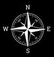 compass rose design wind rose vector image