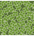 four leafed clover pattern vector image vector image