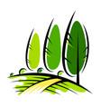 landscape design and agriculture