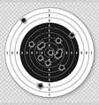 realistic target 3d vector image