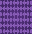 Seamless harlequin pattern-purple vector image vector image