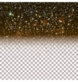 Shiny Particles on dark background vector image