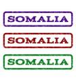 somalia watermark stamp vector image vector image