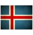 Vintage Iceland Flag