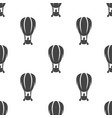 air balloon seamless pattern vector image
