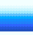 blue wave line abstract vector image