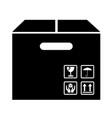 box package icon symbol design vector image