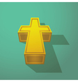 Christian Cross vector image vector image