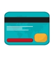 credit card money business icon vector image