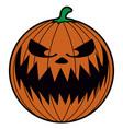 isolated halloween icon vector image