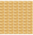 pattern of white chocolate bars vector image