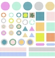 scrapbook vector image vector image