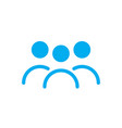 three user icon human person silhouette avatar