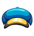 A blue lumberjacks hat vector image vector image