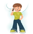 Cell Phone Teen vector image