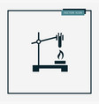 chemistry icon simple vector image vector image