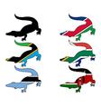Crocodile Africa vector image vector image