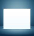 empty board vector image vector image