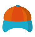 hat cap cartoon vector image
