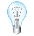 Incandescent Light Bulb vector image vector image