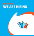 join our team busienss company sydney we are vector image vector image