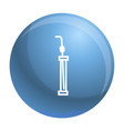 laboratory pipette icon simple style vector image