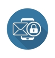 Privacy Protection Icon Flat Design vector image